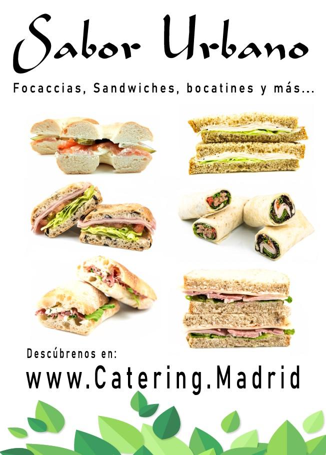 Focaccias, Sandwiches, Bocatines, etc